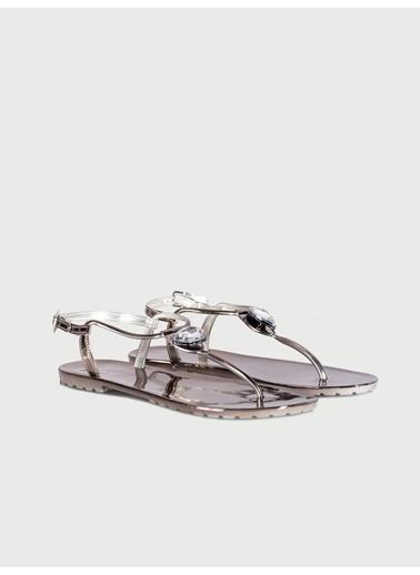Ipekyol Sandalet Gümüş
